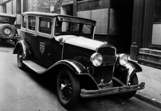 Desoto taxicab, 1930