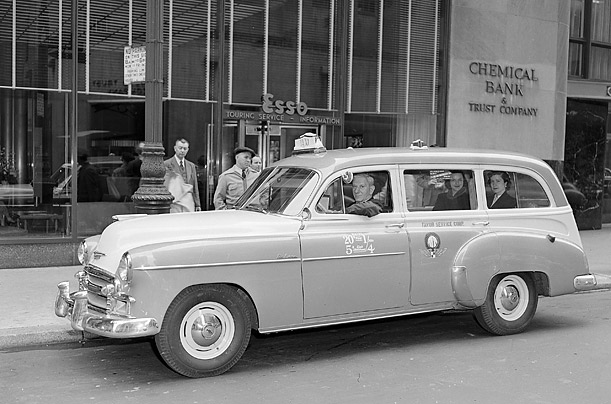 Chevrolet taxis 1950