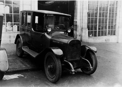 checker cab 1926