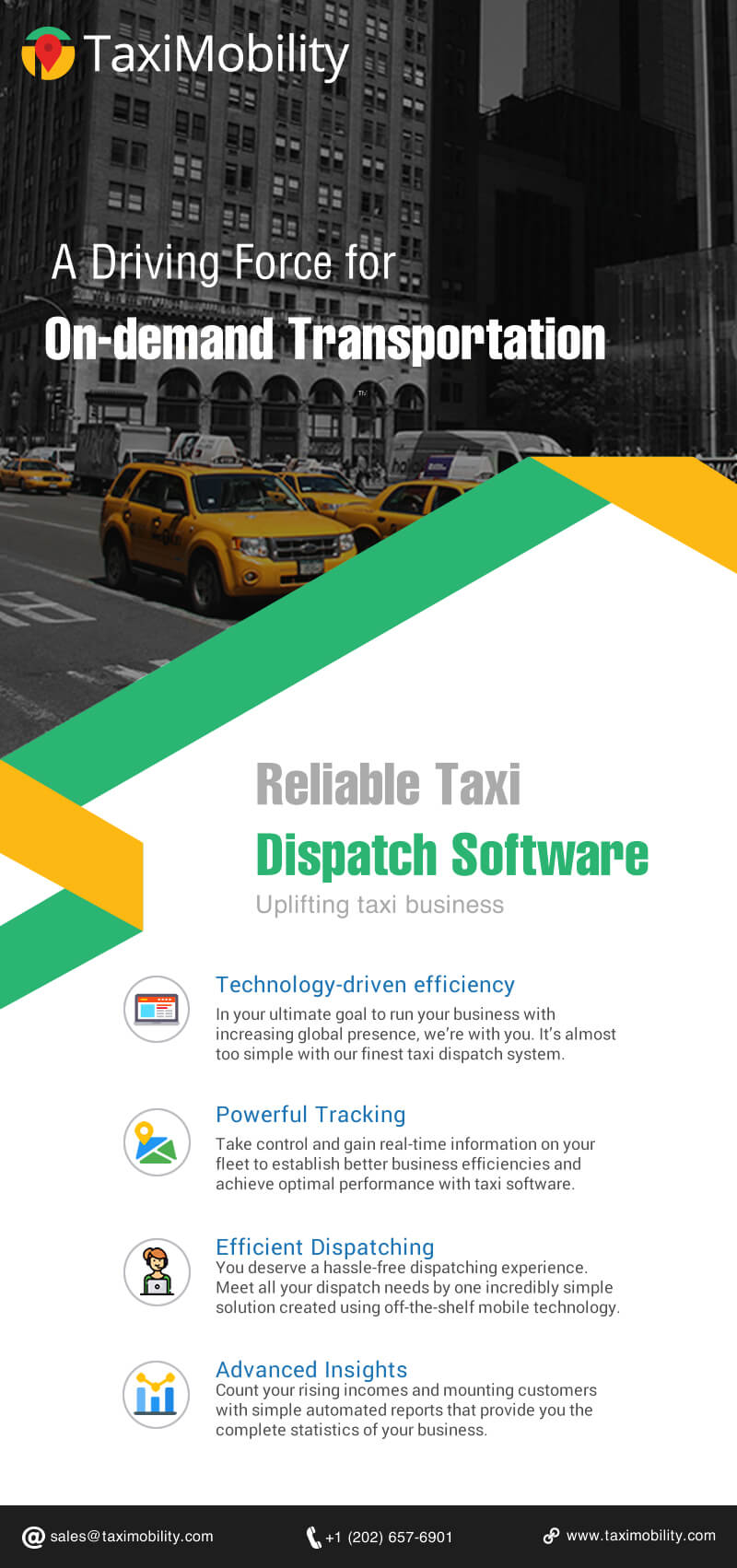 A driving force for on-demand taxi business